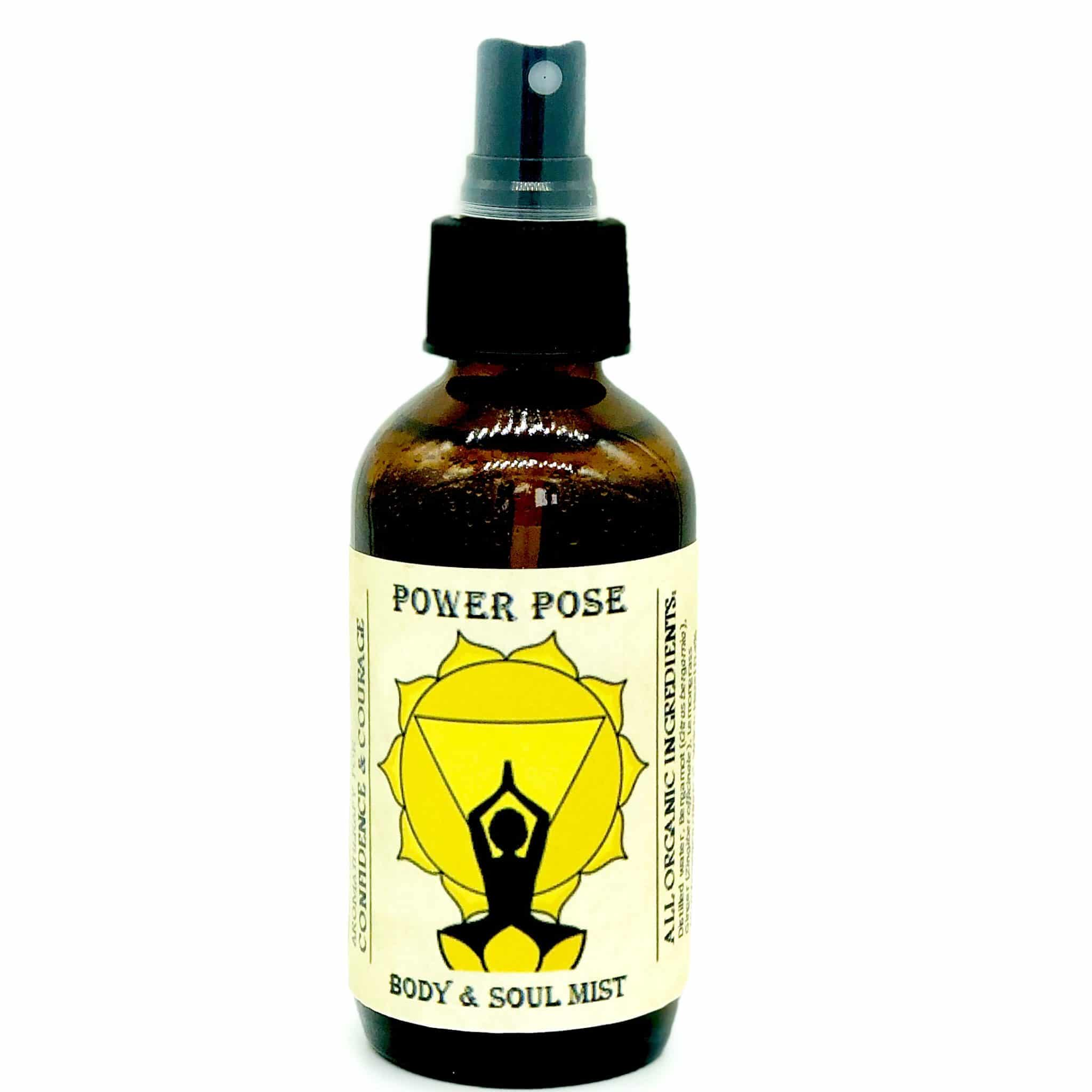 power pose solar plexus chakra spray