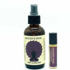 Heaven's Door aromatherapy set