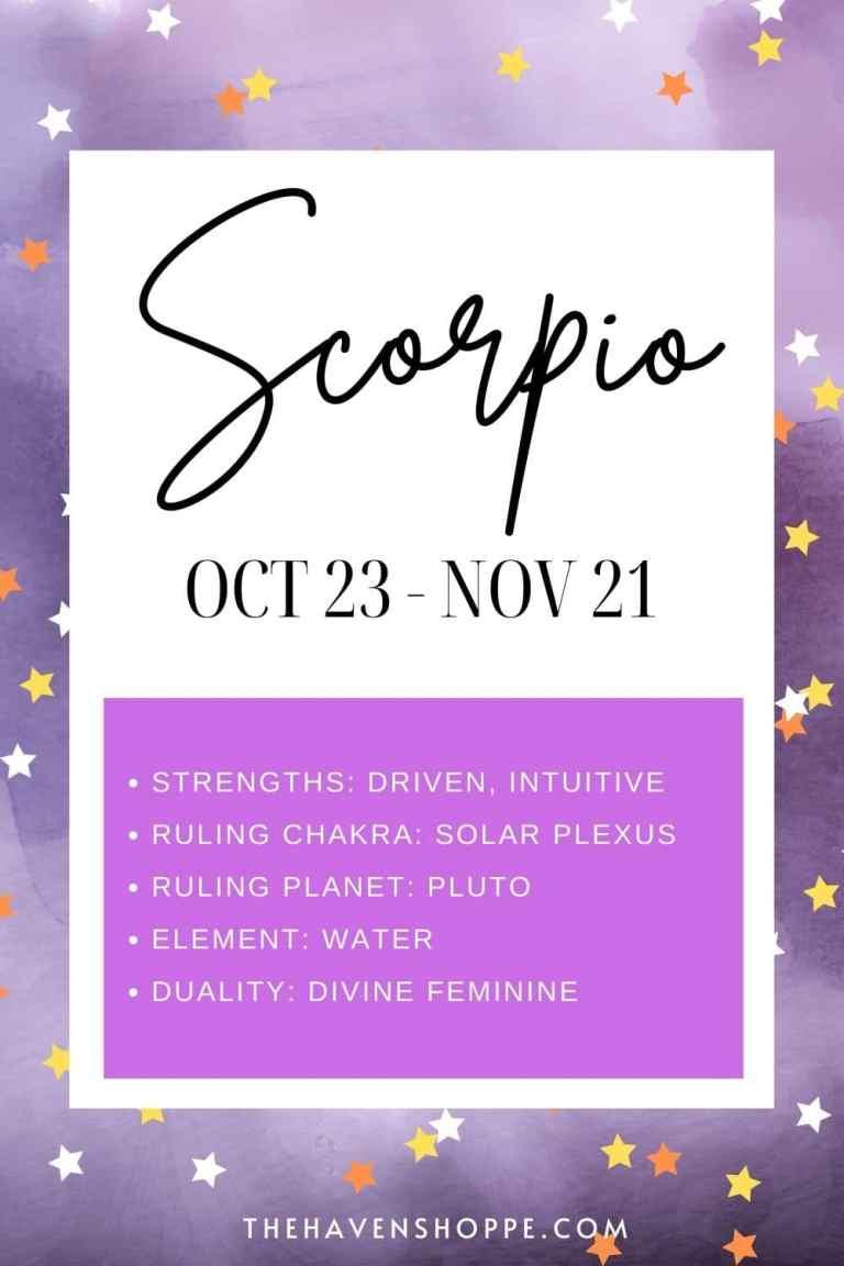 Scorpio zodiac sign meaning pin