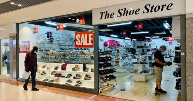 The Shoe Store- a shoe addict's dream!