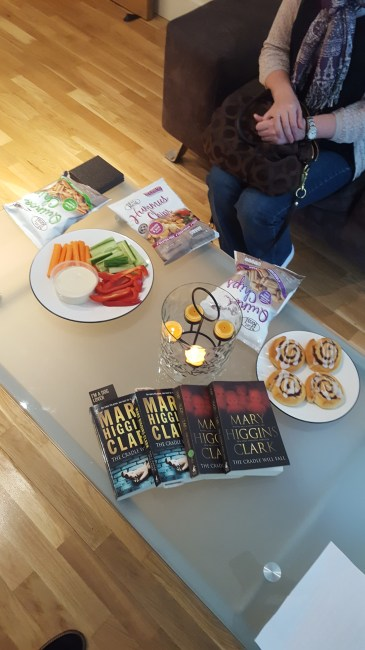I think it's a good idea to start with a crime thriller for a book club. It's also a good idea to have lots of snacks...