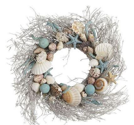 Christmas Beach Wreaths