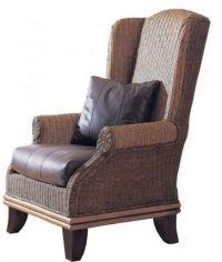 Tropical Wingback Chair - The Hawaiian Home