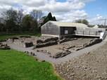 Roman baths and houses
