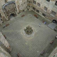 In a nutshell:  the Linlithgow Palace fountain