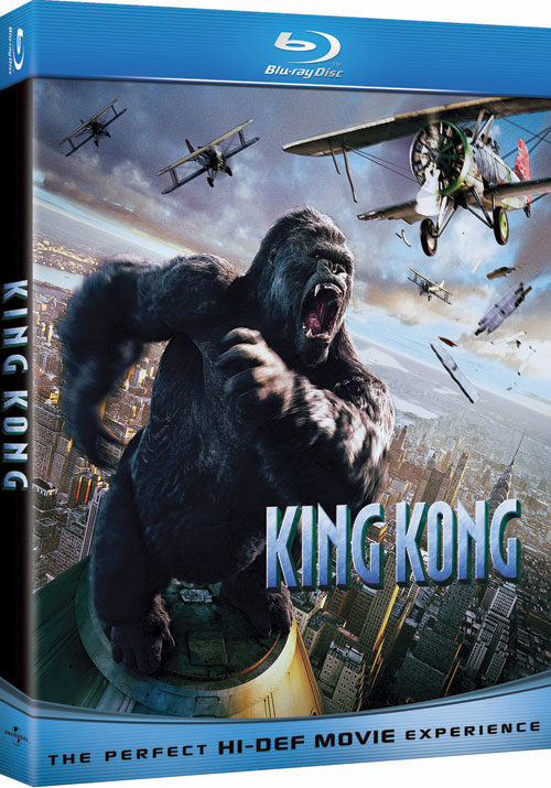 And The King Kong Blu Ray Cover Looks Like TheHDRoom