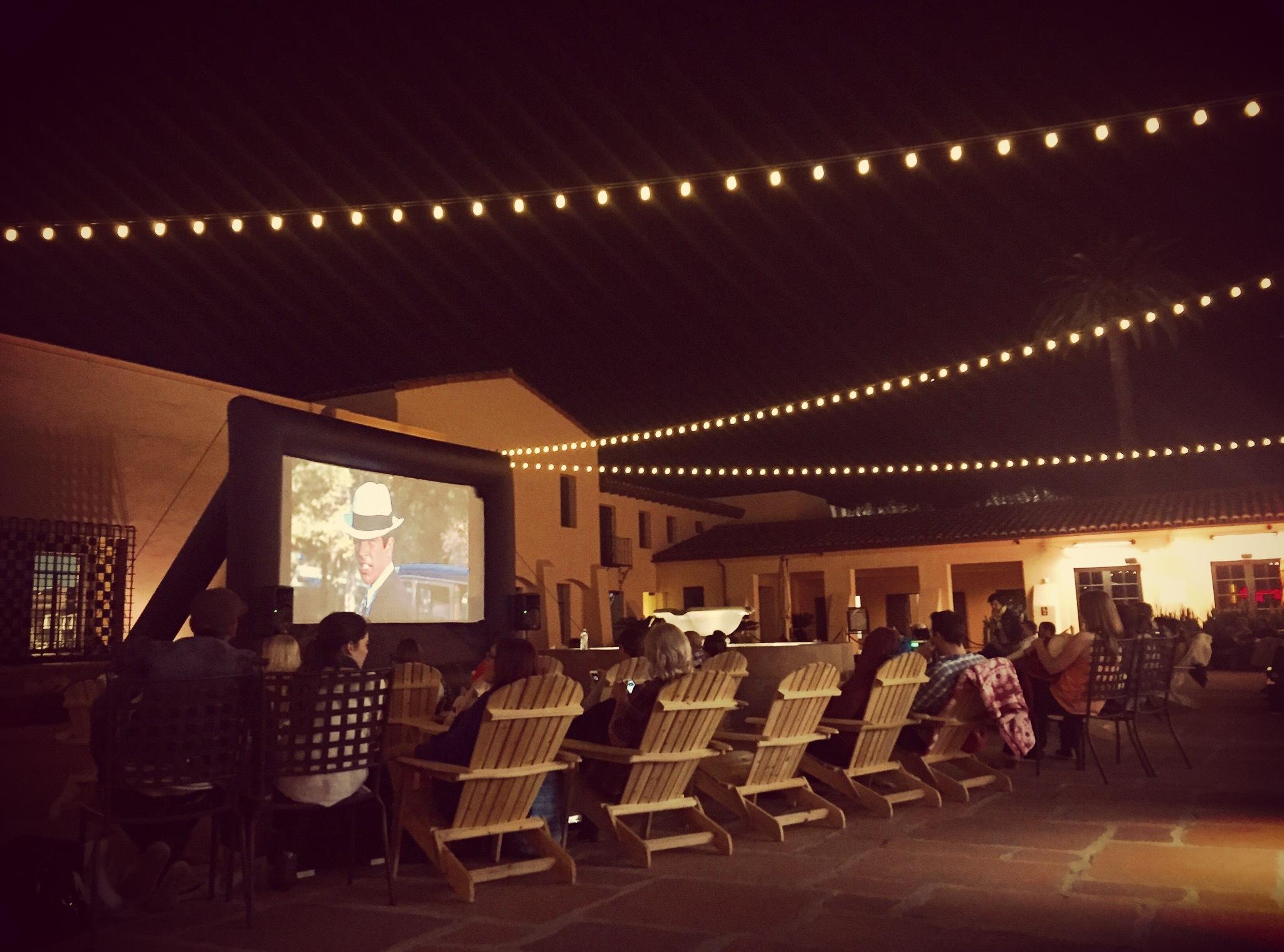 Cinema Under the Stars  I Love SD Movie Series Anchor
