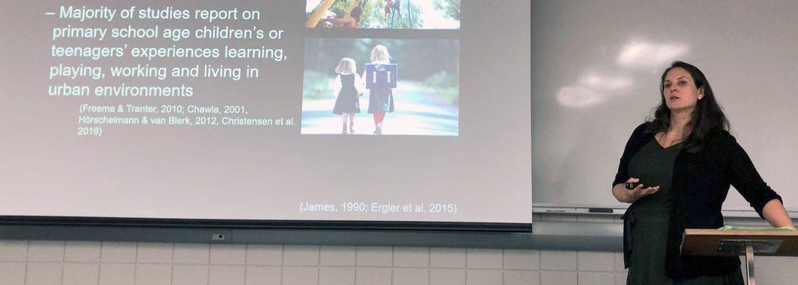 Dr. Christina Ergler: A Visiting Scholar at Western University