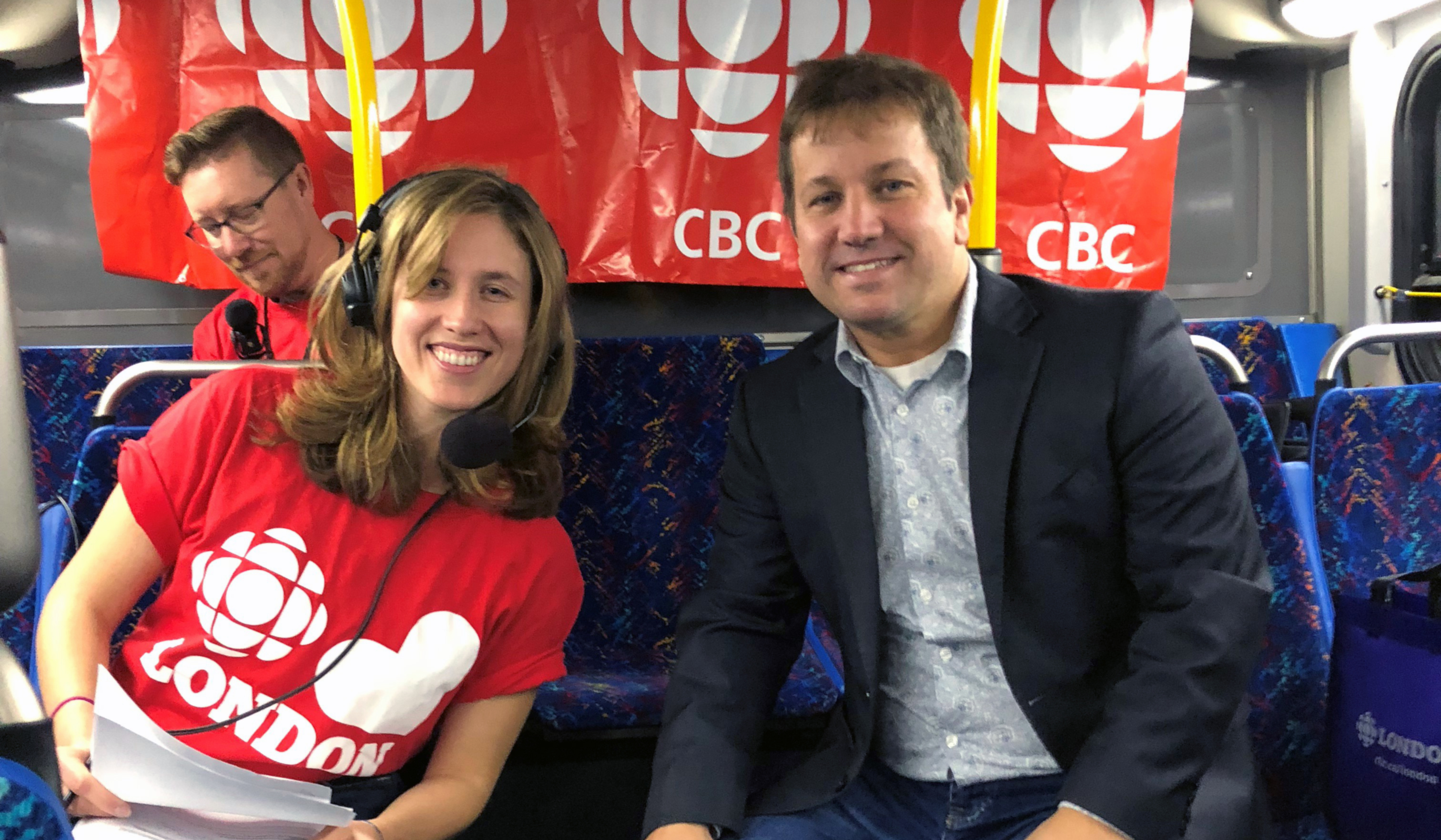 Dr. Gilliland's CBC Interview on Bus Transportation issues in London ON