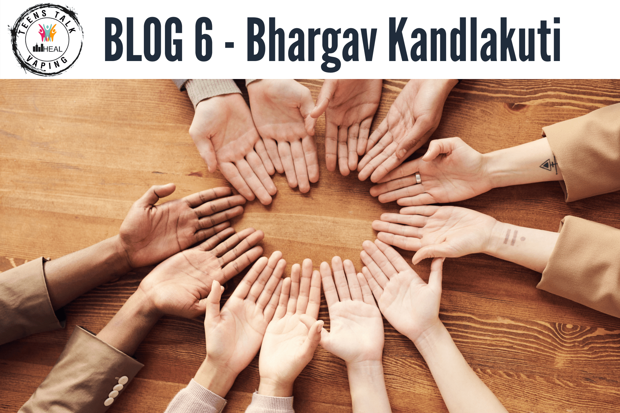 TTV Blog 6 – Making sure to be Inclusive by Bhargav