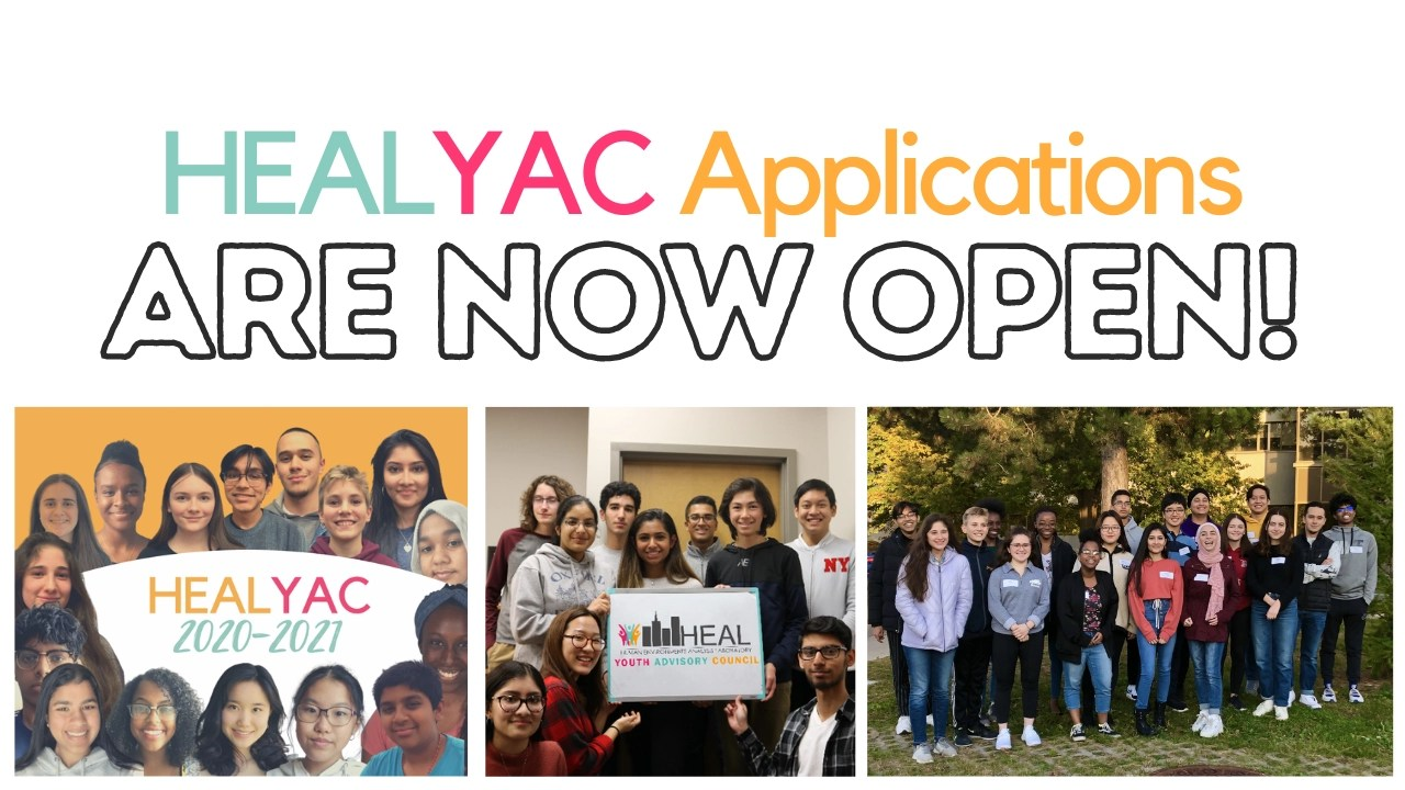 2021-2022 Applications for New HEALYAC Members