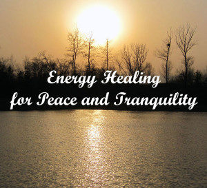 Energy for Peace and Tranquility