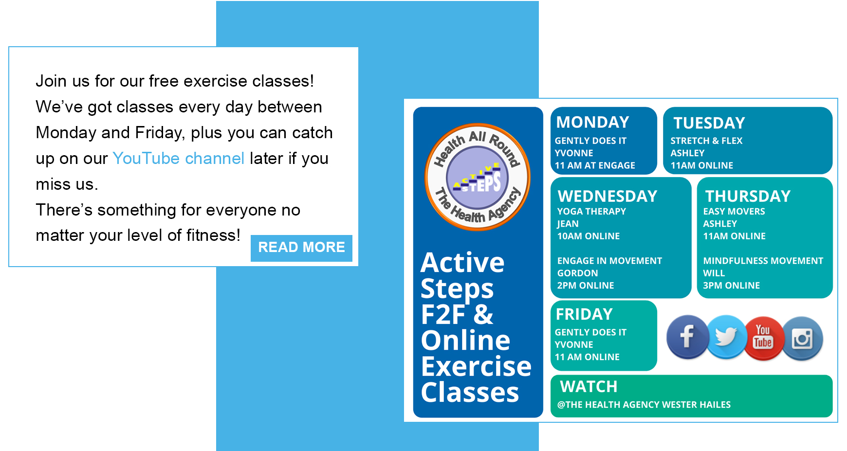 Active Steps, Physical activities, Health, fitness, exercise