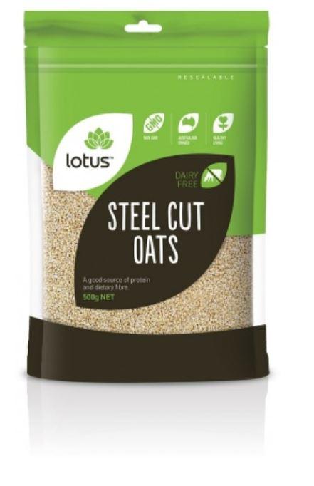 Lotus Steel Cut Oats 500g