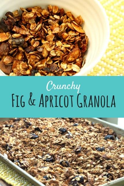 Fig & Apricot Granola