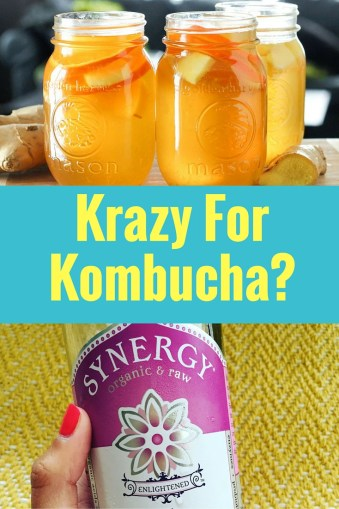 Krazy For Kombucha