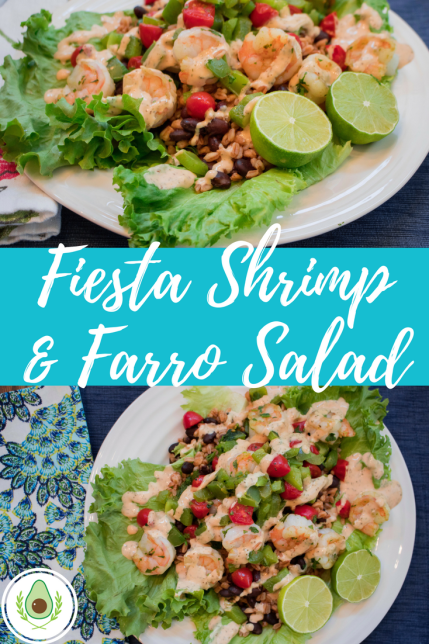 Fiesta Shrimp & Farro Salad
