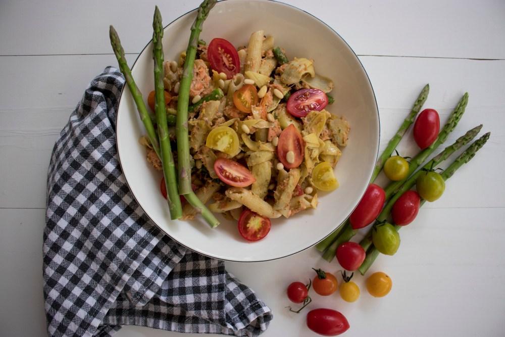 Cashew Pesto Pasta_9