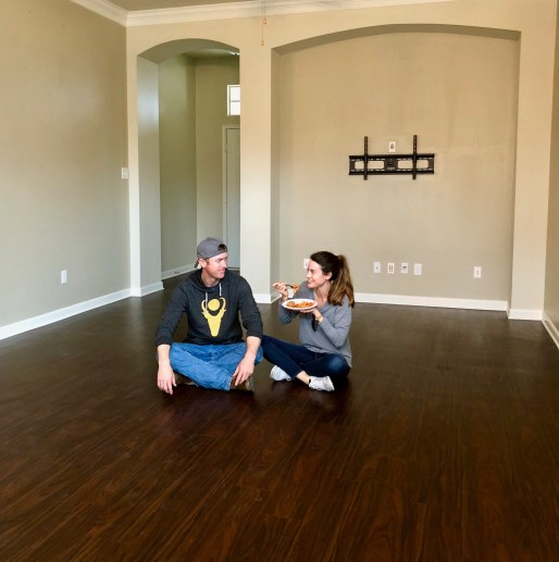 Saying goodbye to our very first home