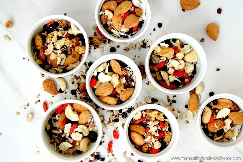 Superfood Fruit Nut and Seed Snack Mix  The Healthy