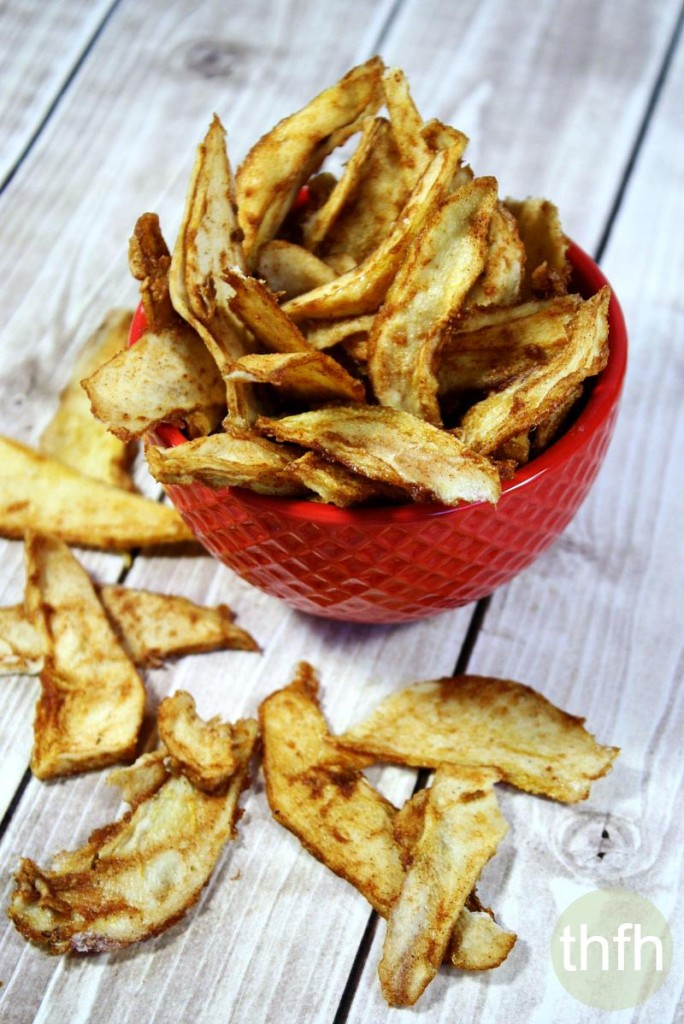 Raw Cinnamon Sugar Pear Chips  The Healthy Family and Home