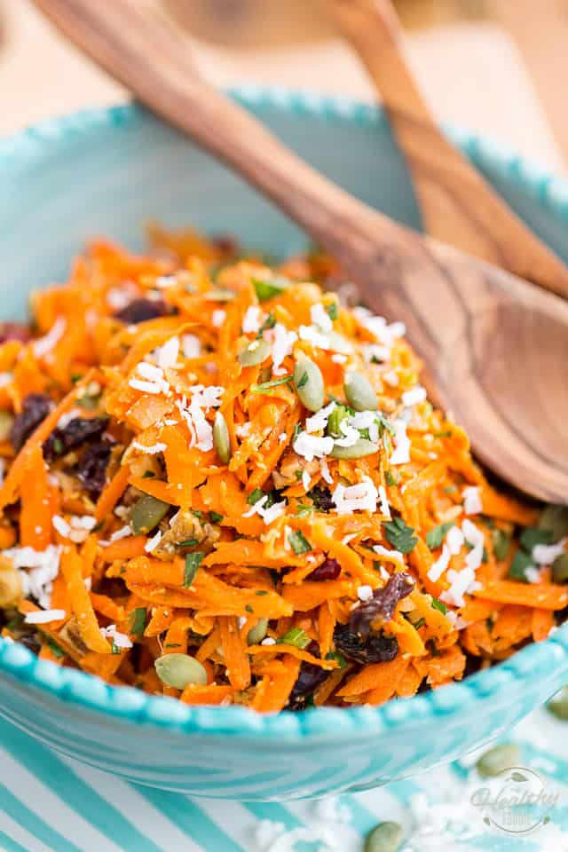 The Best Carrot Salad Ever The Healthy Foodie