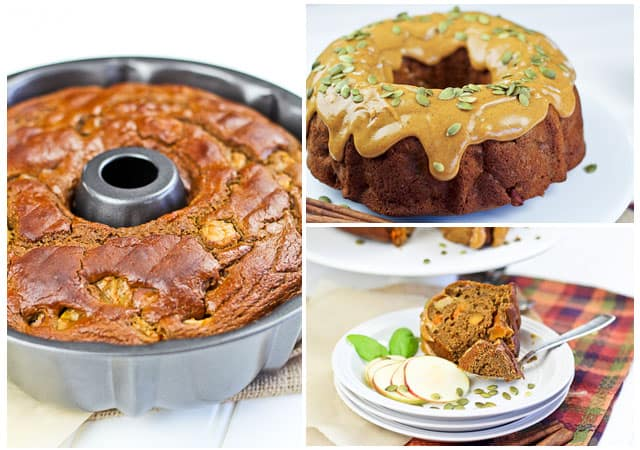 Healthy Apple Bundt Cake
