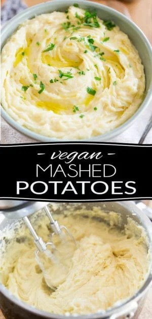 These Vegan Mashed Potatoes are so good, creamy and buttery, no one will ever guess that they're not