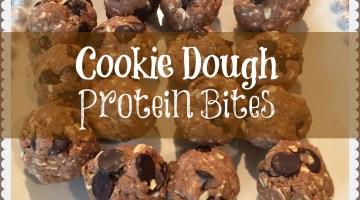 CookieDoughProteinBites