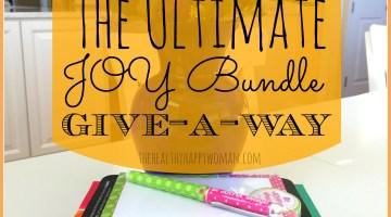 The Ultimate Joy Bundle Give-away
