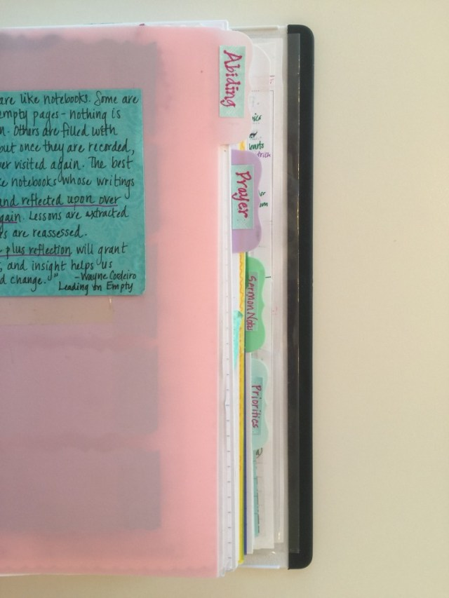Prayer Notebook 28