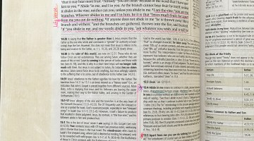 How to Choose a Life Verse