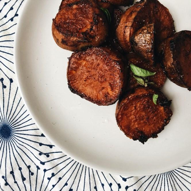 Sticky sweet potato 1