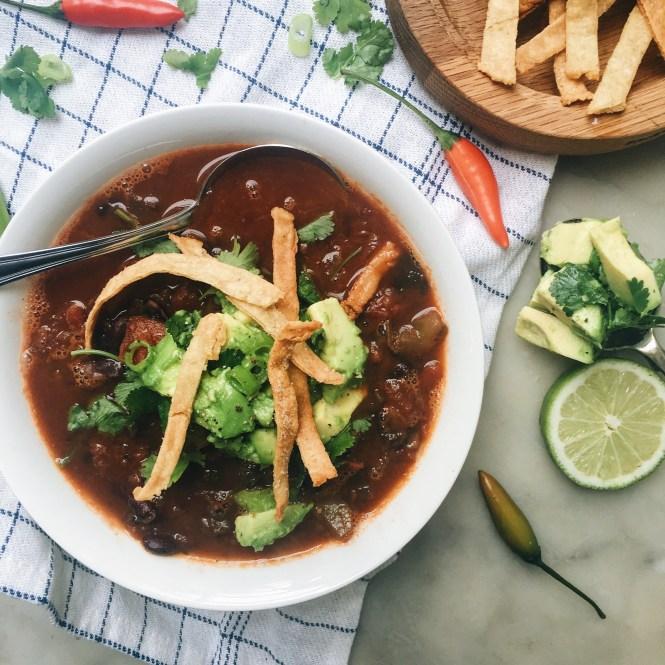 Mexican Tomato Soup 3