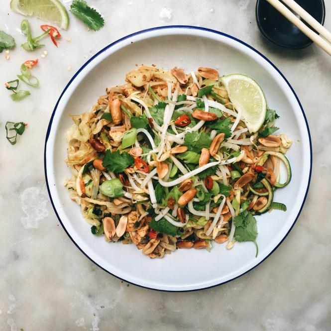 Vegetarian Pad Thai 2