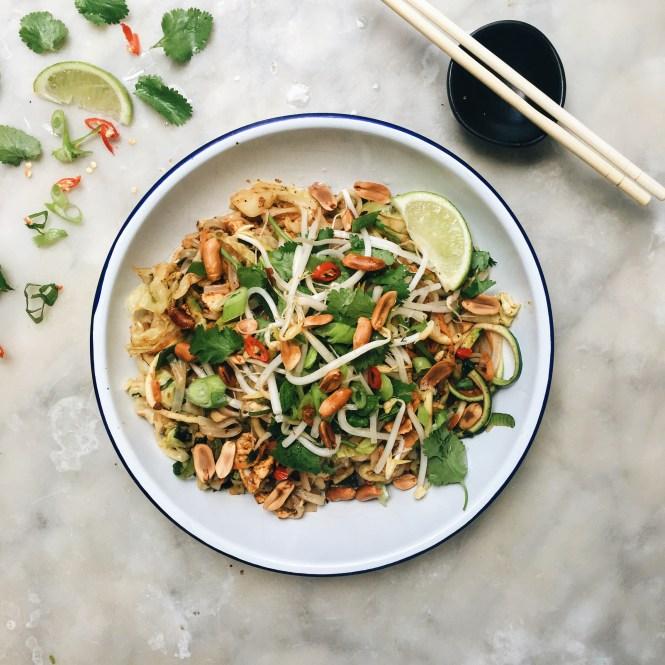 Vegetarian Pad Thai 5