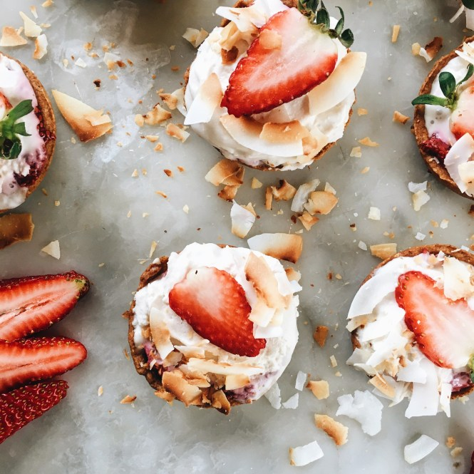 Strawberry and Cream Tarts 5