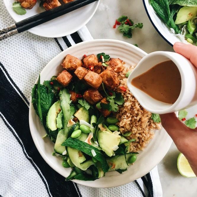 Crispy Satay Tofu 7