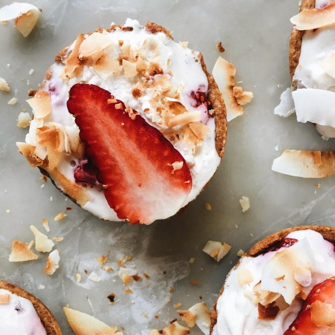 Strawberry and Cream Tarts 3