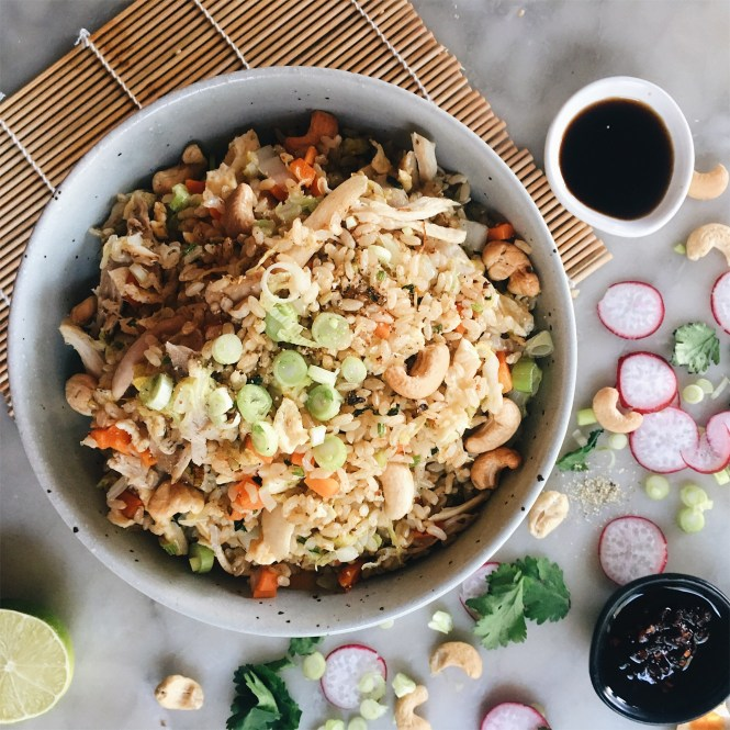 Chicken And Cabbage Fragrant Fried Rice The Healthy Hunter
