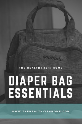 "A diaper bag is essential to my mom life. I've heard people say ""you don't really need one"" or ""as you have more kids you won't want to carry one around anymore"", but I find it extremely helpful to have a packed bag for my daughter with extra items we may need that day. What's in our diaper bag changes seasonally and as she grows bigger but for the most part I have kept the same items in it since she was born. #packingadiaperbag #diaperbag #toddleressentials"