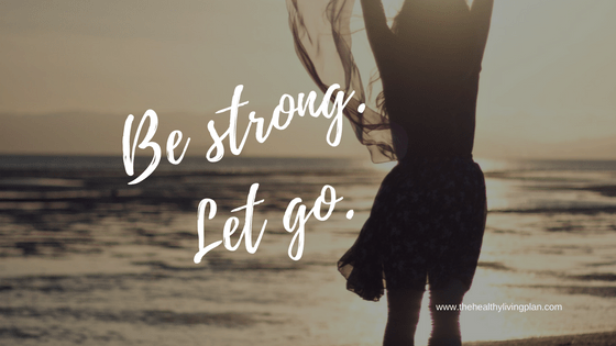 Be strong.Let go.Logosynthesis