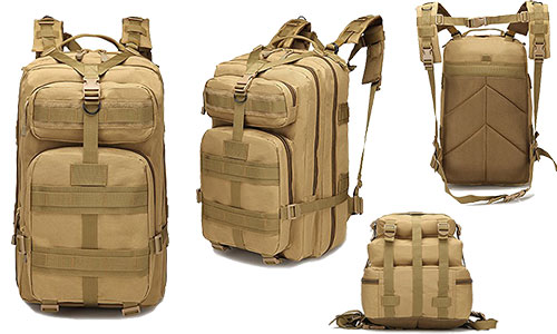 Eyourlife Military Rucksacks Tactical Backpack