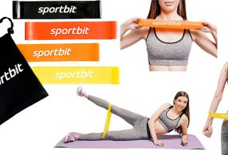 SPORTBIT Resistance Bands Set Review