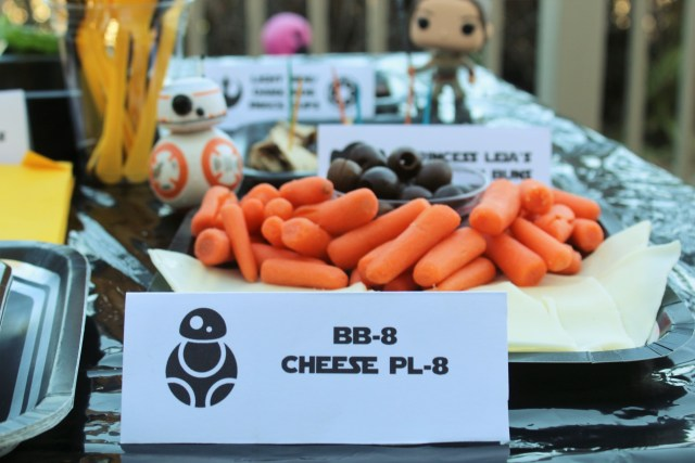 Star Wars Party Food Made Simple - BB-8 Cheese Pl-8