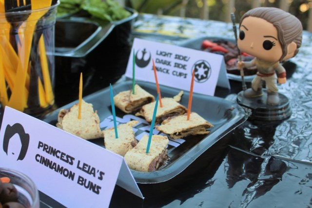 Easy and Healthy Star Wars Birthday Party Ideas