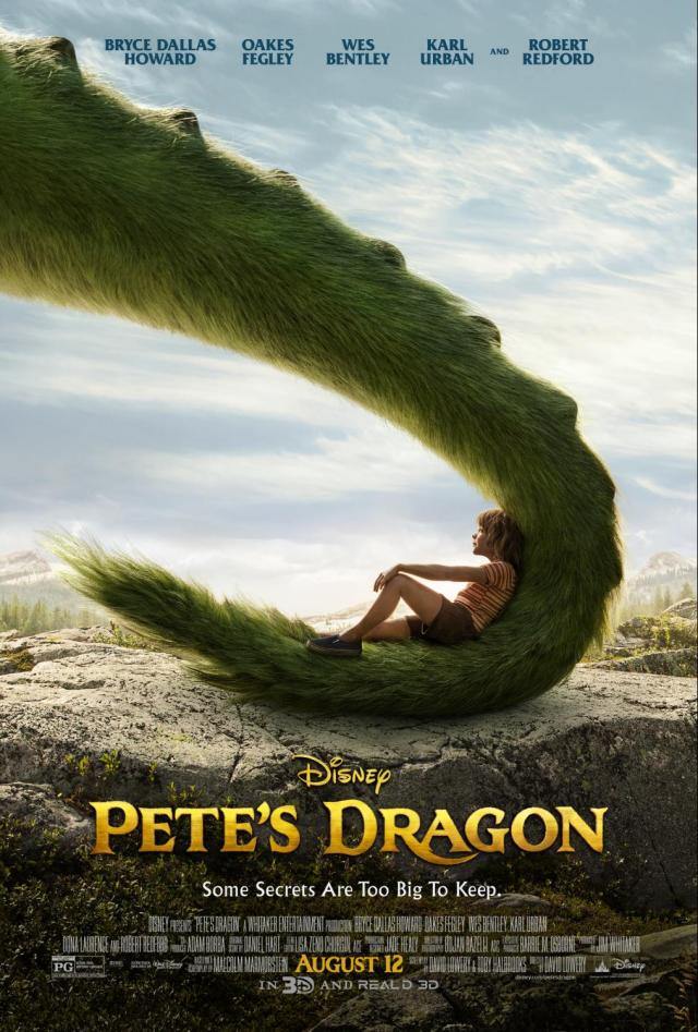 Pete's Dragon Movie Review, plus Pete's Green Dragon Smoothie Recipe