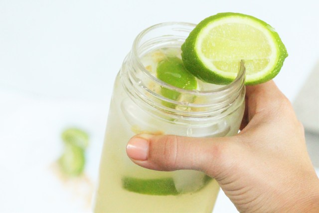 Skinny, all-natural Moscow Mule