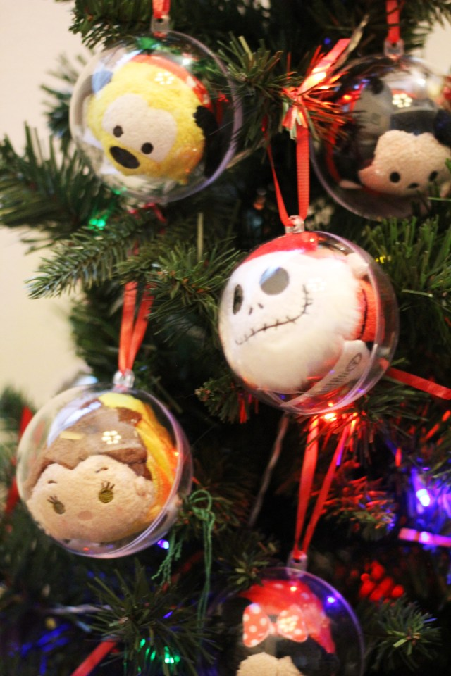 Create your own Disney Tsum Tsum Christmas Tree!