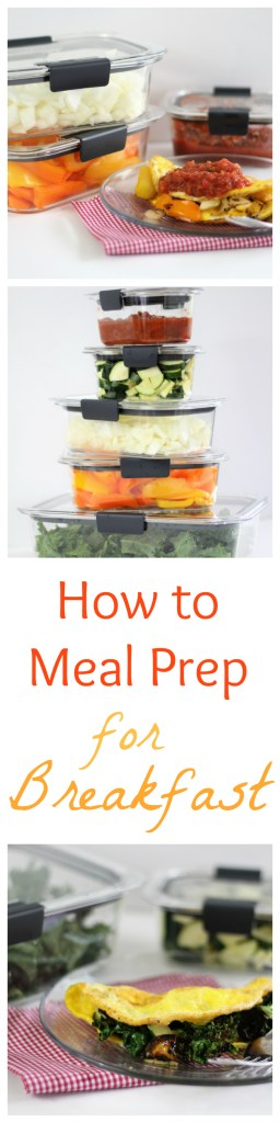 How to Meal Prep for a Week's Worth of Breakfasts! - Healthy Breakfasts, Easy Breakfast, Breakfast prep, meal prep, Food Storage - #OrganizeWithBrilliance #Ad